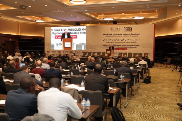Kudsider,İstanbul'da düzenlenen ilk İsrail apart uluslararası konferansına katıldı