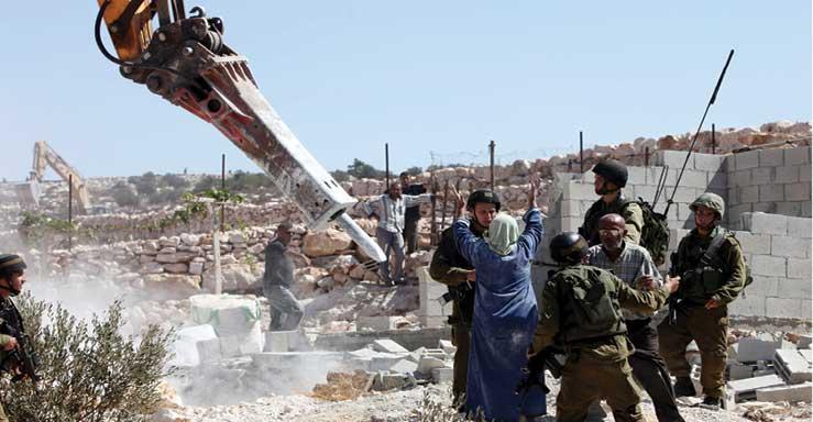 İşgalci Kudüs'te bir yıkım katliamı ve büyük bir suça tanık olun